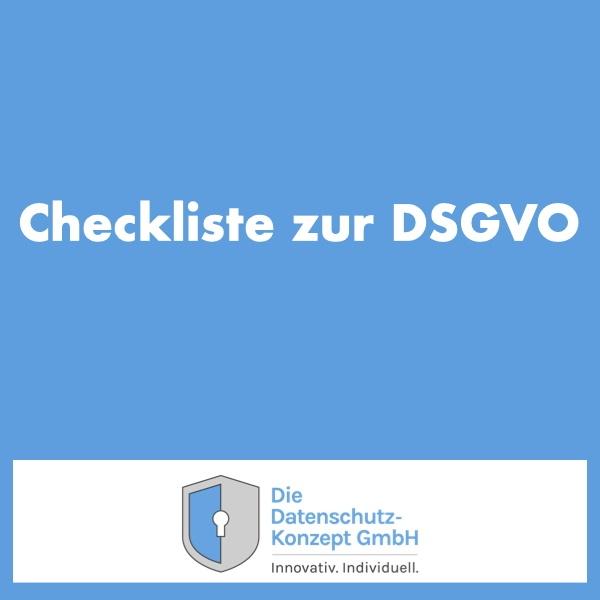 Platzhalterbild für eine DSGVO Checkliste.