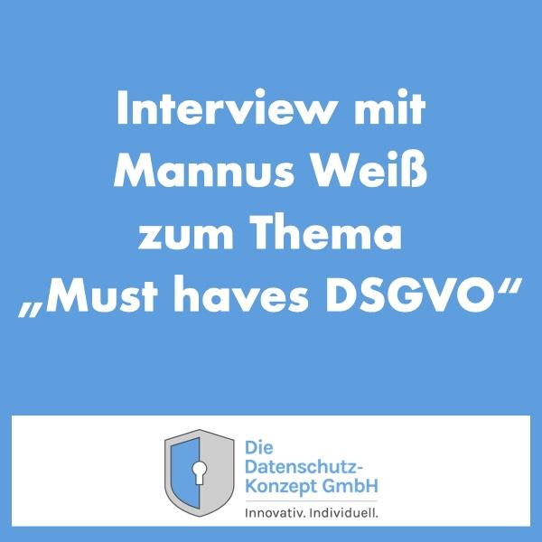 Platzhalterbild für ein Interview mit Mannus Weiß.